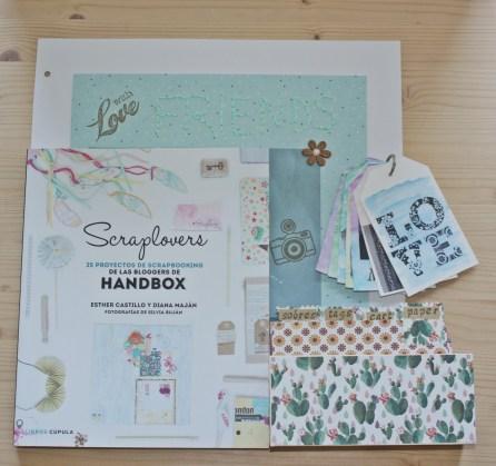 libros crafter scraplovers handbox