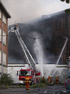 Brussels - Warehouse Fire