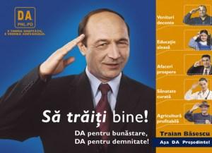 Basescu - election campaign