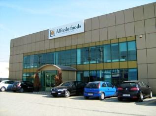 Alfredo - building signage