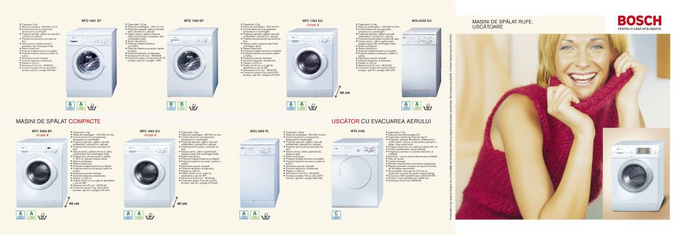 Bosch - Flyer Washing