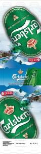 Carlsberg - 6 pack ski