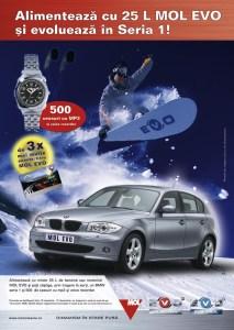 Mol - BMW A1 Winter campaign