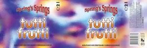 Spring's Spring - tutti frutti beverage