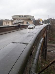 La Capitale - photo - Cristian Samoila, Avenue Arnaud Fraiteur, Bruxelles Mobilite, Reparations pont, 1050 Ixelles