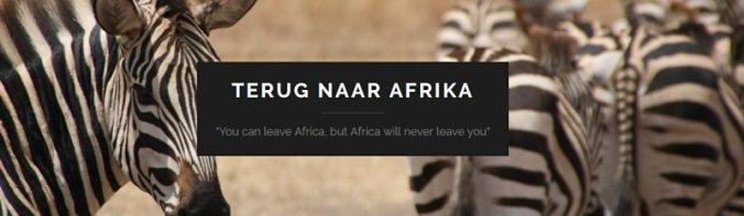 nieuwe website Terug naar Afrika