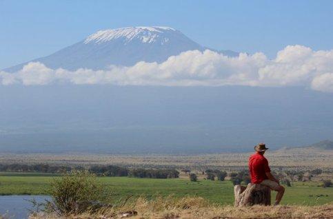 Fantastisch uitzicht op de Kilimanjaro