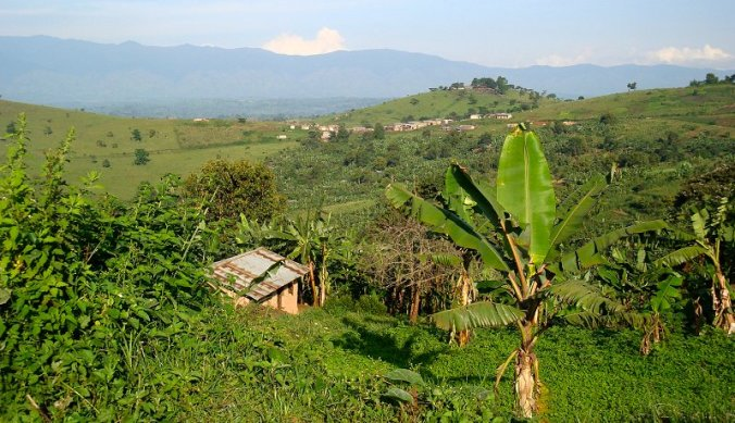 Fort Portal omgeving in Oeganda