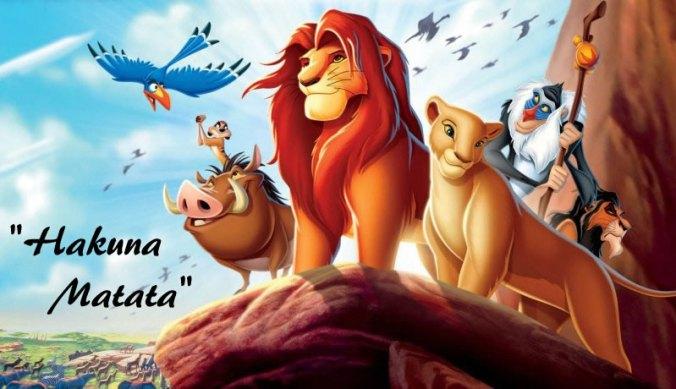 Swahili uit de Lion King