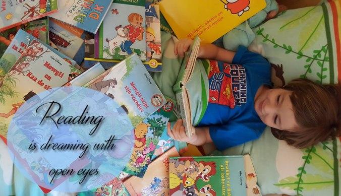 Lezen tijdens de boekenweek