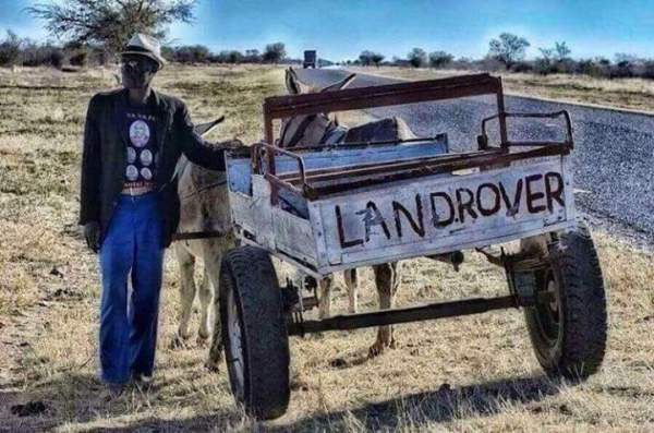 Landrover in Afrika | This is why I love Africa