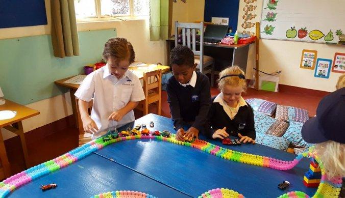 Ochtend activiteiten in de klas Arusha