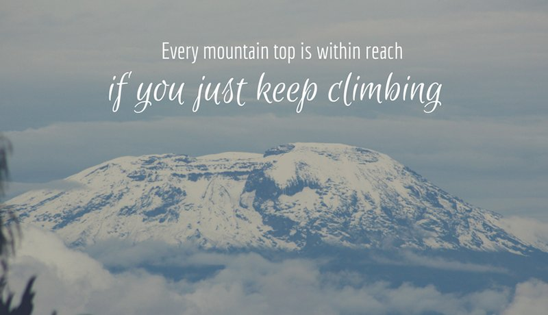 Kilimanjaro: to run or not to run