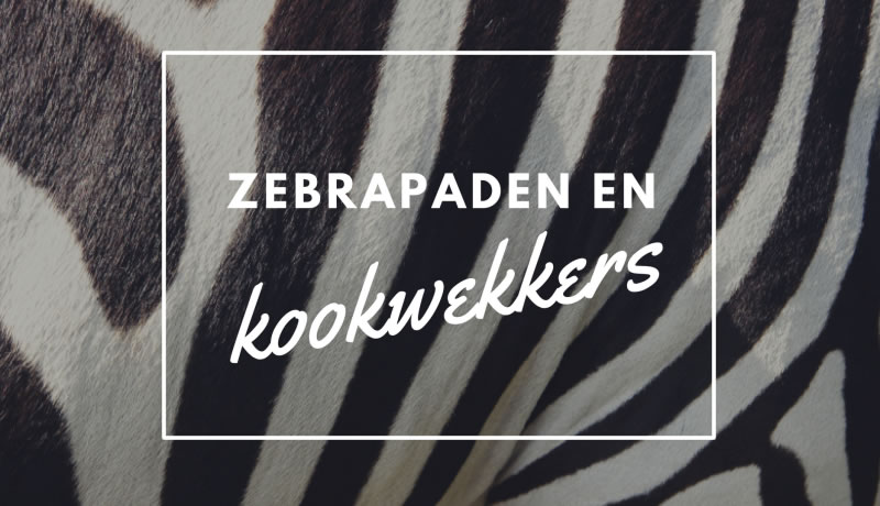 Op de radio: over zebrapaden en kookwekkers