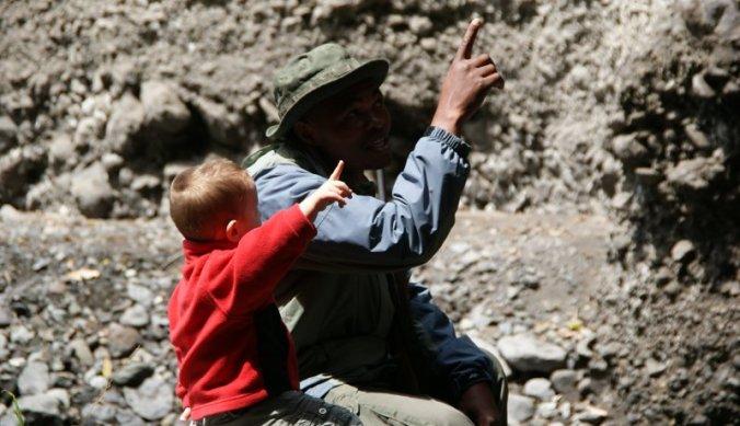 Fascinerende verhalen van park ranger in Arusha National Park