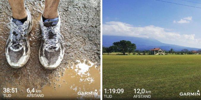 Garmin hardlopen training voor halve marathon Kilimanjaro