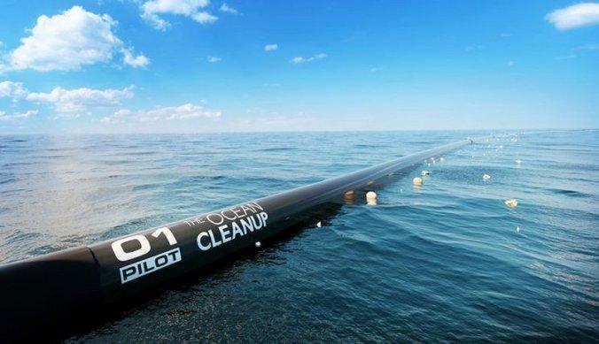 Ocean Cleanup by Boyan Slat