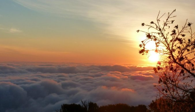 Op de top van de Kilimanjaro