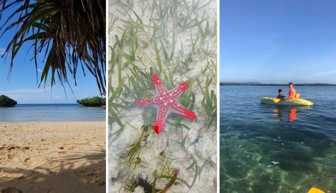 Verborgen strandjes, zeesterren en kajakken