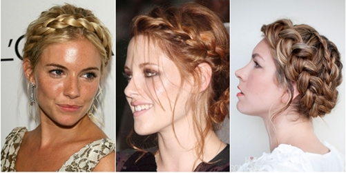 sanggul 2013 messy braid updo