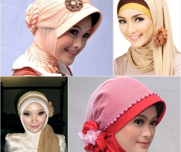 model jilbab ke pesta