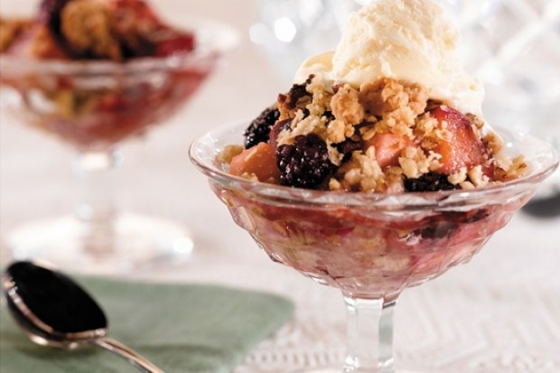 Fruit and Cream Crisp