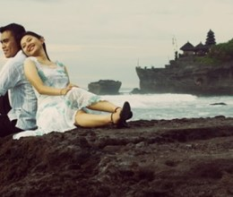 Pre-wedding Tanah Lot Bali