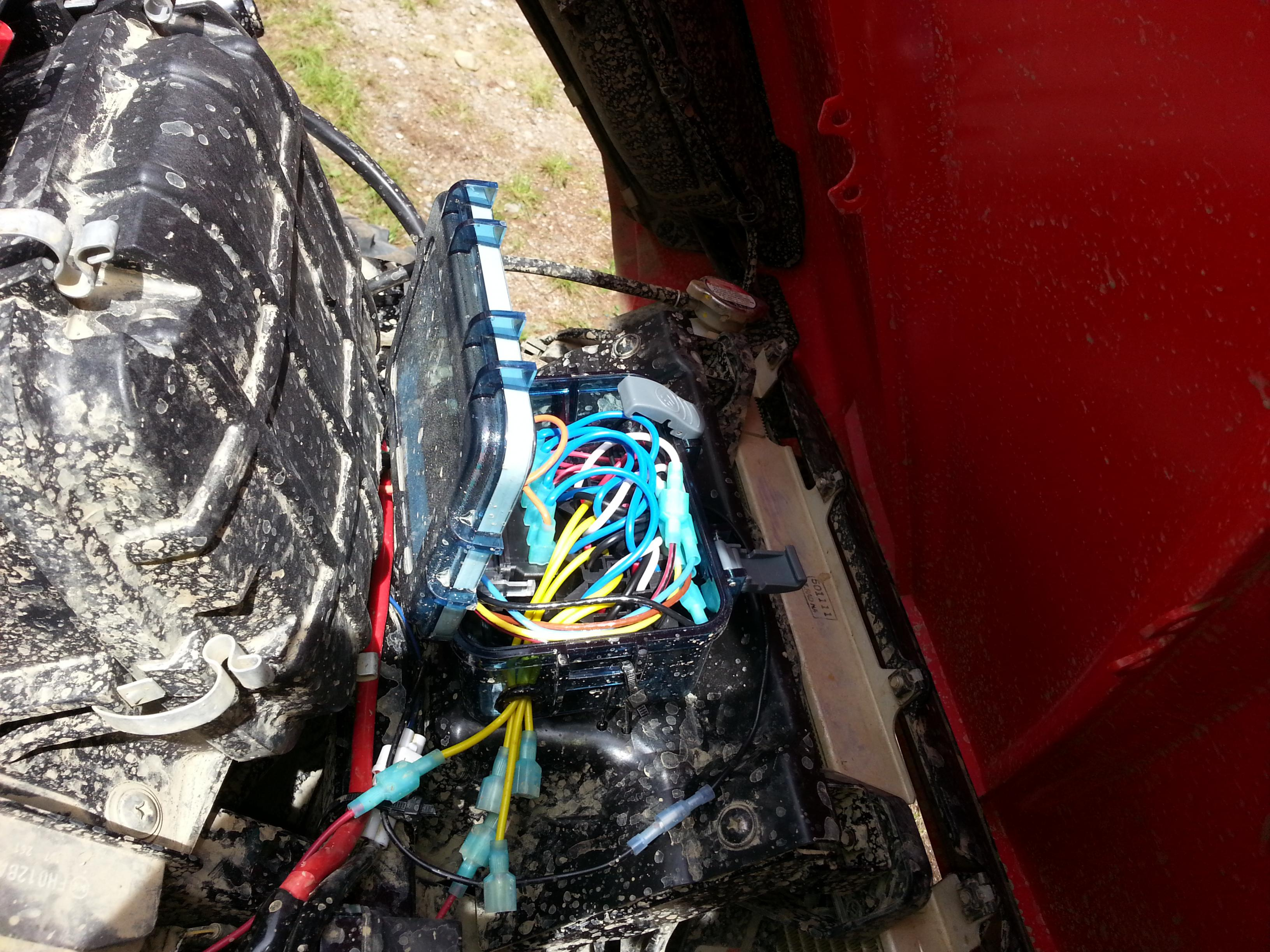 Teryx4 Led Wiring Harness For Multiple Lights