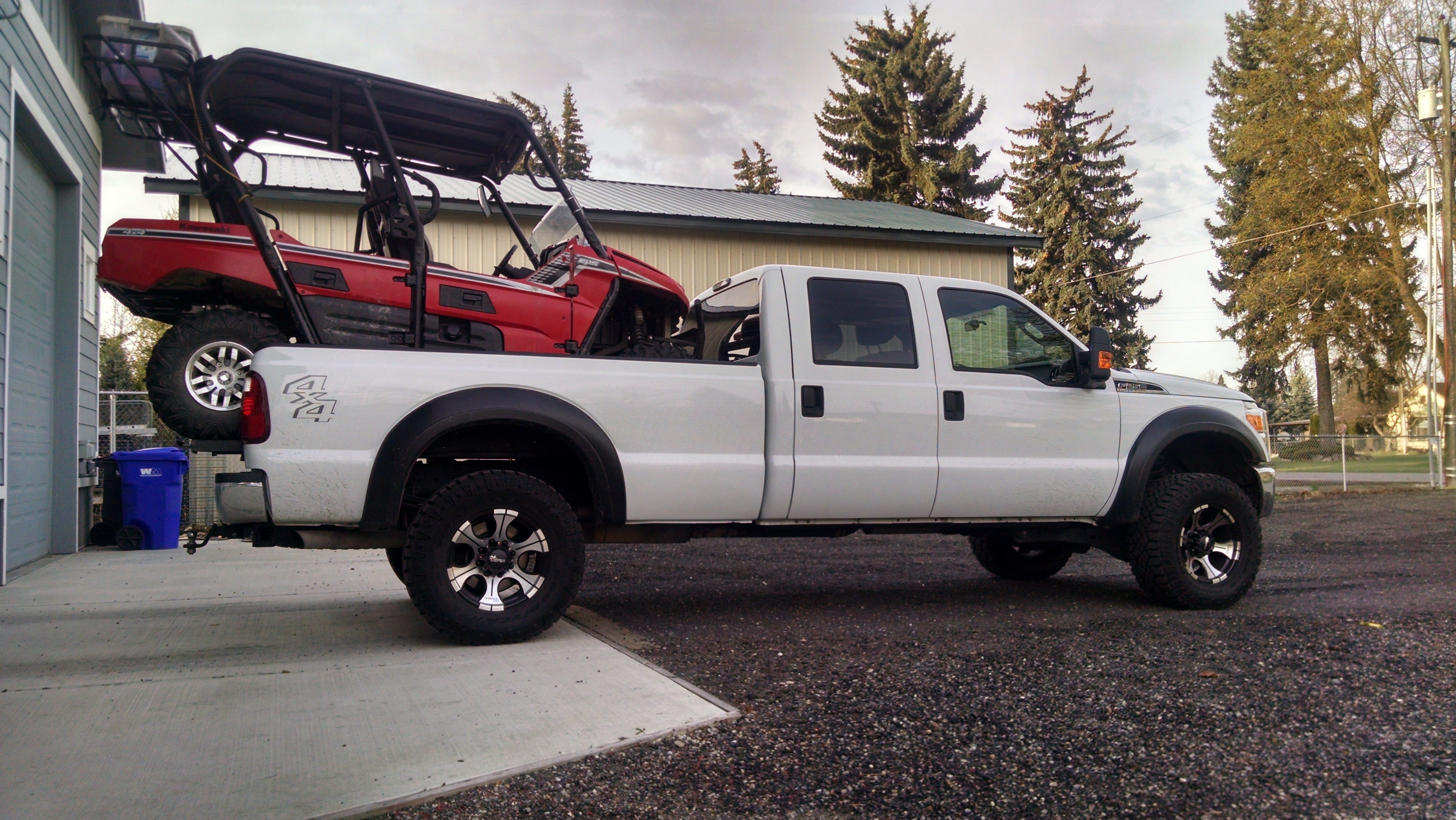 Do You Carry Your Teryx4 On Your Truck