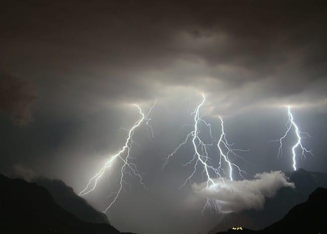 Allerta Meteo Regione Lazio: in arrivo pioggia, grandine e forte vento