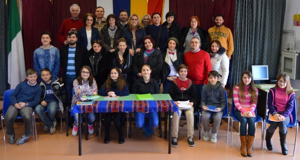 Ladispoli, Istituto Corrado Melone: la TV romena a scuola