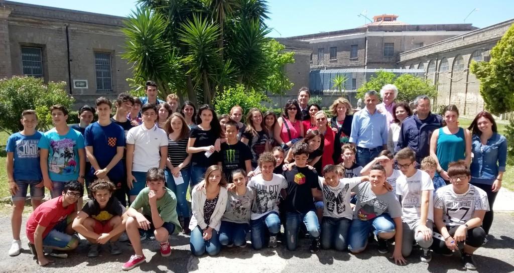 Ladispoli: la scuola Corrado Melone in visita al carcere