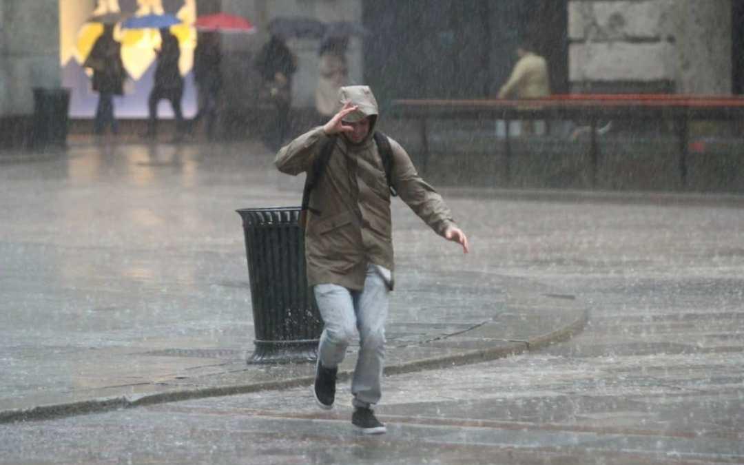 Allerta meteo Regione Lazio: piogge da domani mattina per le prossime 24 ore