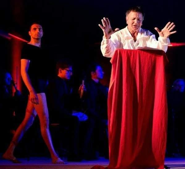Il regista di Cerveteri Agostino De Angelis in scena a Bronte
