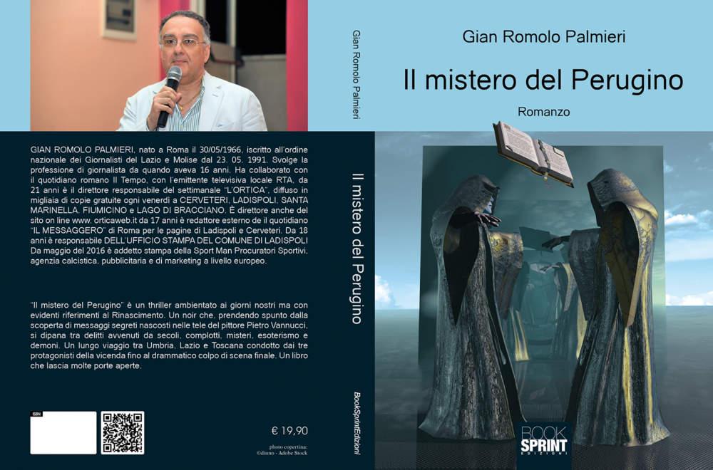 """E' uscito il thriller """"Il mistero del Perugino"""", scritto dal giornalista Gianni Palmieri"""