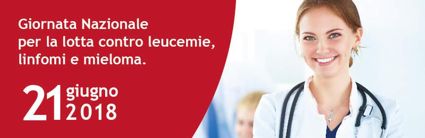 Oggi 21 giugno Giornata Nazionale contro le leucemie, linfomi e mieloma