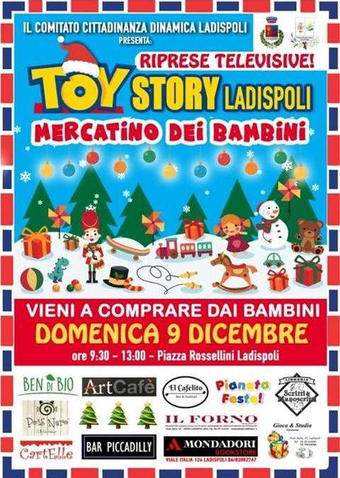 Torna Toy Story Ladispoli con le telecamere di Rai Gulp!
