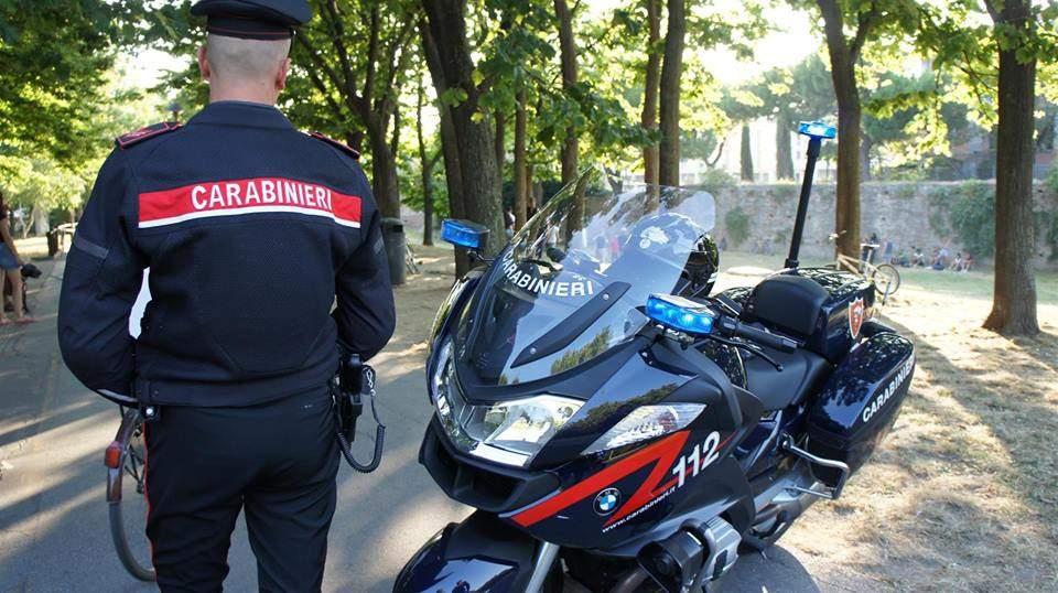 Baby spacciatore fermato dai carabinieri di Bracciano