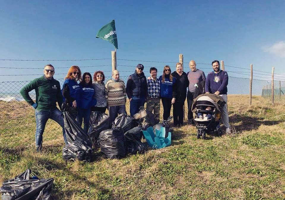 Domenica 20 i volotari Fare Verde puliranno spiaggia Saline e Tarquinia Lido