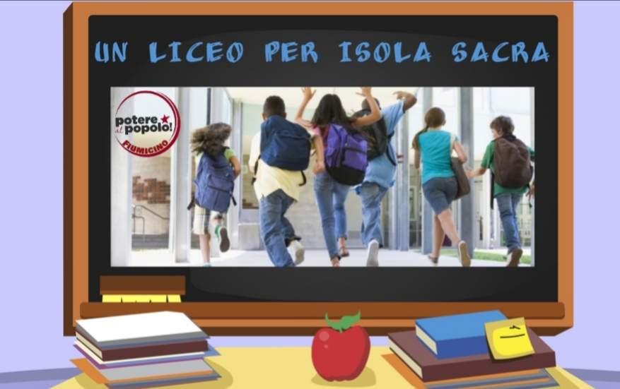 """Potere al Popolo Fiumicino: """"Occorre un Liceo a Isola Sacra"""""""