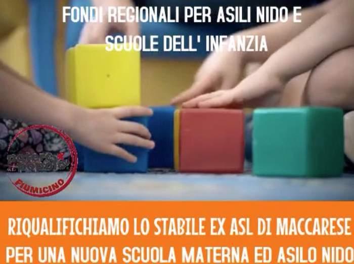"""Fiumicino, Potere al Popolo: """"Destinare fondi materna e nidi per riqualificare ex Asl Maccarese"""""""
