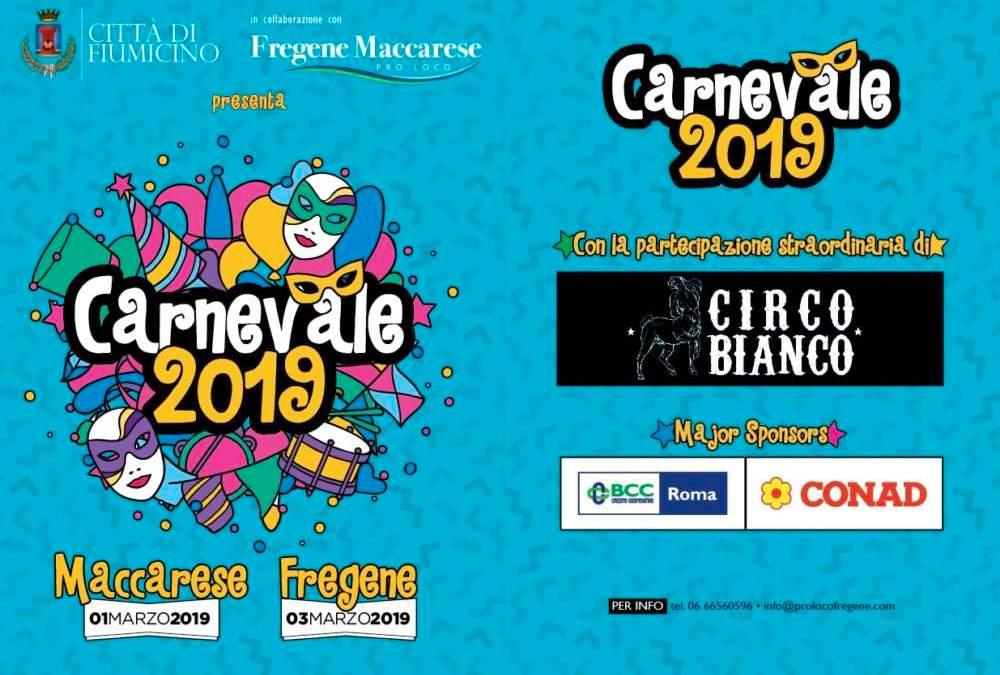 Fiumicino, Carnevale a Fregene e Maccarese: gli eventi