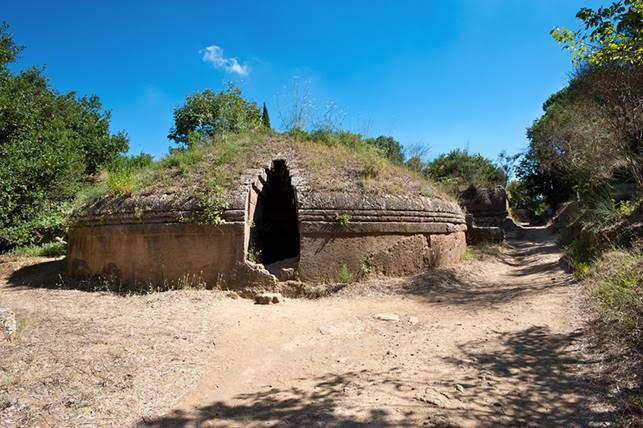 Santa Severa, appuntamento sulla Necropoli di Cerveteri