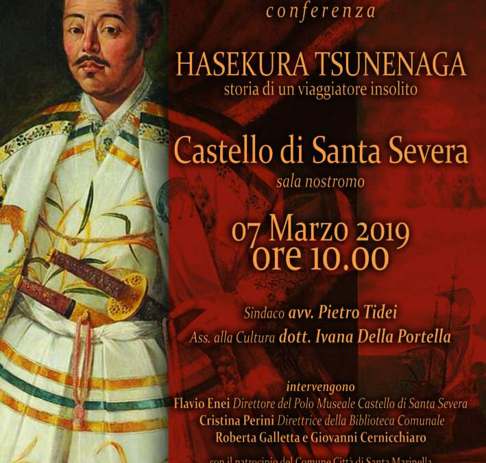 Hasekura Tsunenaga conferenza sulla storia di un viaggiatore insolito