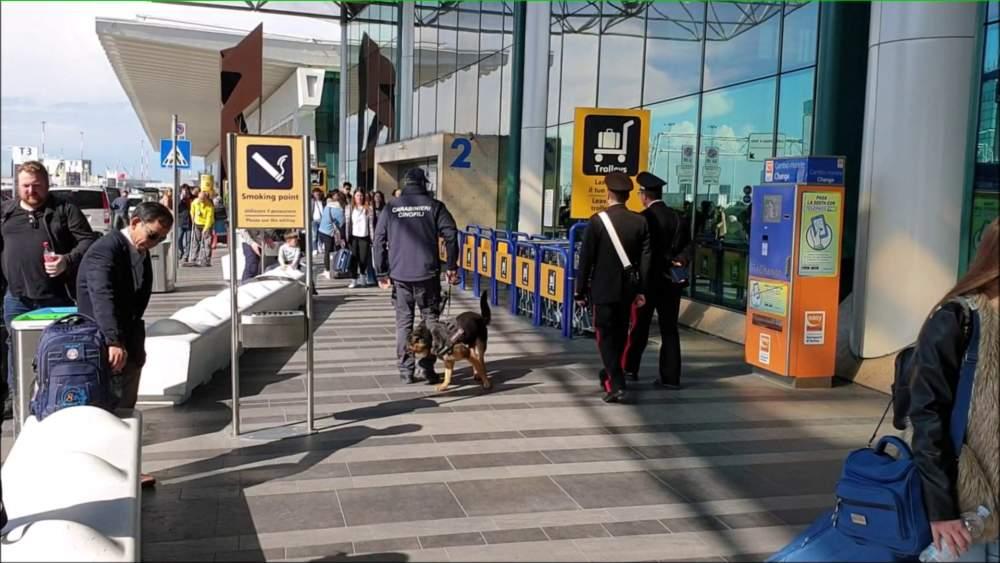 Aeroporto Fiumicino: un arresto al duty free e un lavoratore in nero
