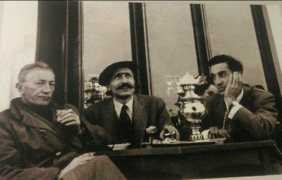 Sait Faik Abasıyanık, Özdemir Asaf, Sabahattin Kömürcüoğlu