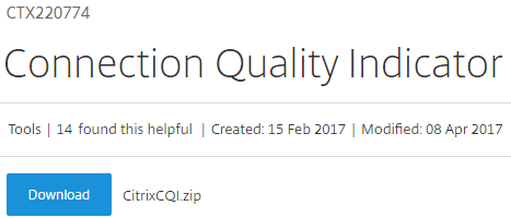 Connection.Quality.Indicator.000