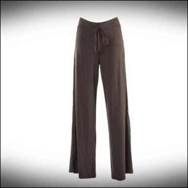 Mascara beli bağcıklı kahverengi pantolon-160 TL