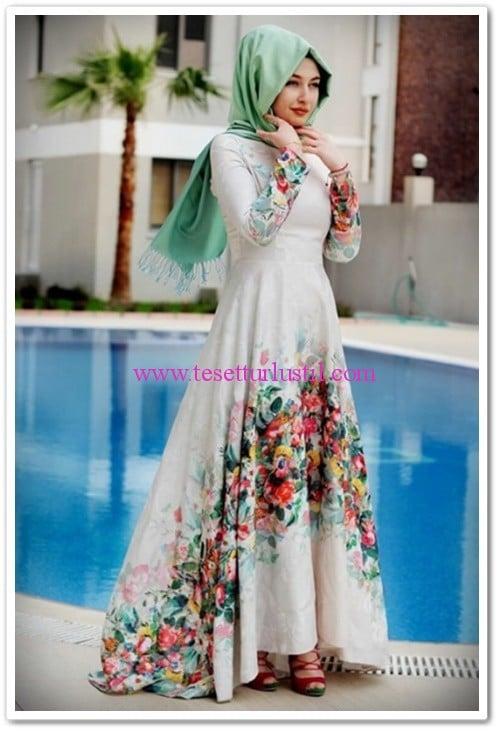 merve-gunduz-ekru-flora-abiye-elbise-495 TL 3123e0f97b6