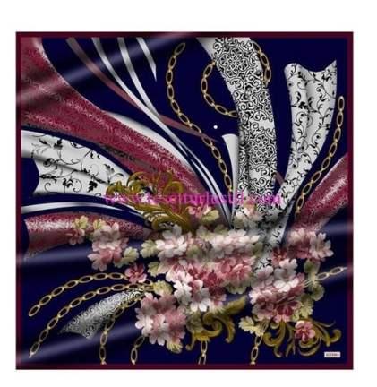 Setrms 16K917-çiçek-zincir desenli eşarp-70 TL